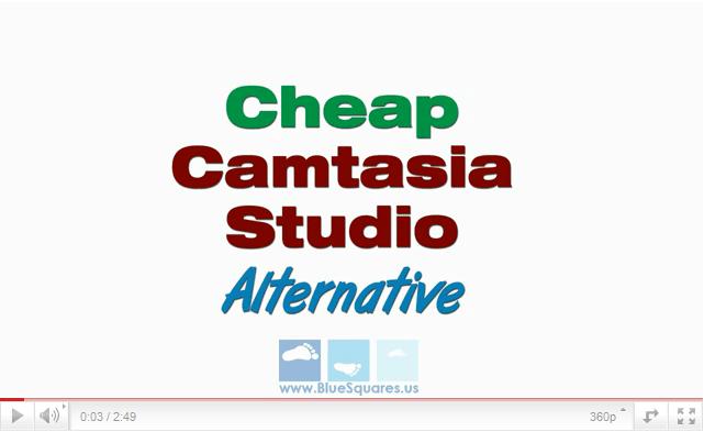 Camtastia Studio Alternative for Screencasts or Screen Recording