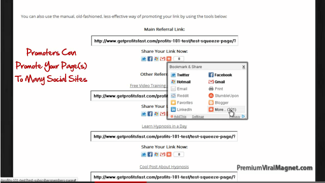 Social Sites Tool Inviter