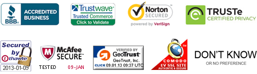 List of Site Seals Tested