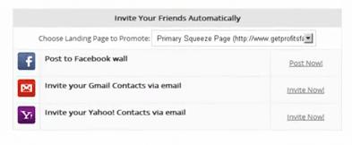 Viral Invitation Tool